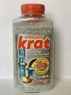 Засіб гранульований для чищення труб Kavati Krat з алюмінієвим активатором 320 г