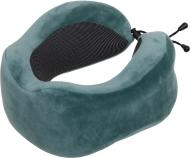 Подушка для путешествий Зеленая 27x26 см Luna