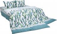 Комплект постільної білизни Пікіто сімейний бежевий із зеленим UP!  (Underprice) daaecc148b07b