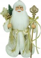 Декоративна фігура Дід Мороз у золотій шубі 30 см
