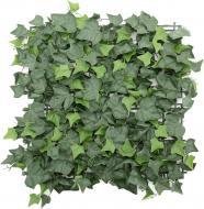 Декоративне зелене покриття Плющ 50х50 см