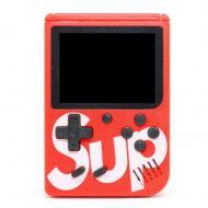Игровая приставка портативная ретро 400 игр dendy денди SEGA 8bit SUP Game Box красная (hub_JZAt7407