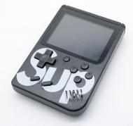 Игровая приставка портативная ретро 400 игр dendy денди SEGA 8bit SUP Game Box Черная (hub_mLFO14433