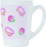 Чашка New Morning Rose Macaroons 320 мл Luminarc