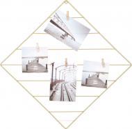 Колаж з прищіпками на 4 фото