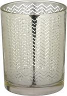 Свічник стаканчик Mercury золотистий 10х12 см