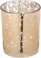 Свічник стаканчик Mercury рожеве золото 7х8,4 см