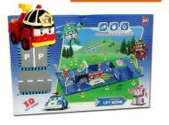 Детские игрушки Набор Поли Робокар парковка с 2 машинками Shantou