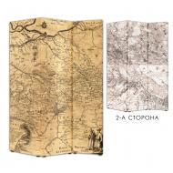 Ширма Теамо Старинная карта 118x175 см