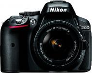 Фотоапарат Nikon D5300 + AF-P 18-55 Non-VR Kit black