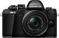 Фотоапарат Olympus OM-D E-M10 Mark II Pancake Zoom 14-42mm Kit black