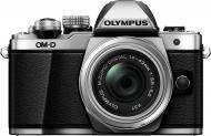 Фотоапарат Olympus OM-D E-M10 Mark II Pancake Zoom 14-42mm Kit silver