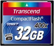 Карта пам'яті Transcend CF 32GB (TS32GCF400)