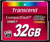 Карта пам'яті Transcend CF 32GB (TS32GCF800)