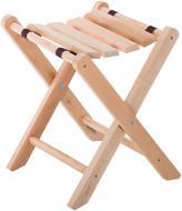 Табурет дерев'яний розкладний Стрічка 45x36x35 см