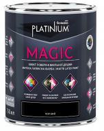 Фарба латексна Sniezka Platinium MAGIC для шкільних дошок мат чорний 0.75л 0.9кг