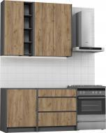 Кухня Грейд МС Идея КРАФТ (без столешницы) ДСП 1,4 м