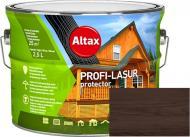 Лазурь Altax PROFI-LASUR protector Коричневый мат 2,5 л