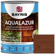 Лазурь Bayris Aqualazur Орех мат 0,75 л