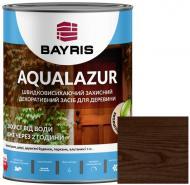 Лазурь Bayris Aqualazur Коричневый мат 0,75 л