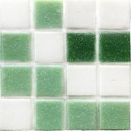 Плитка Vivacer Мозаїка Glmix 200 зелена 32,7x32,7