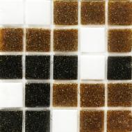 Плитка Vivacer Мозаїка Glmix 300 коричнева 32,7x32,7