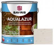 Лазурь Bayris Aqualazur Белый мат 2,5 л