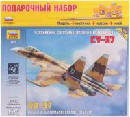 Подарунковий набір ZVEZDA Літак Су-37 1:72 7241П
