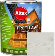 Лазурь Altax PROFI-LASUR protector Белый мат 0,75 л
