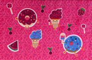 Килим Карат Sweet P Flex 001 1x1,5 м