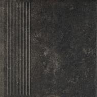 Клінкерна плитка Fondi brown stopnica prosta 30x30 Ceramika Paradyz