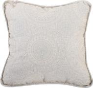 Подушка декоративна Блиск 45x45 см сріблястий La Nuit