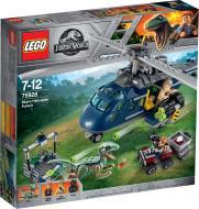 Конструктор LEGO Jurassic World Погоня за Блу на вертольоті 75928