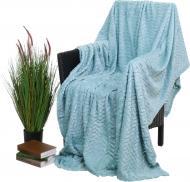 Плед flannel plush 160x200 см аква La Nuit