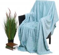 Плед flannel plush 200x220 см аква La Nuit