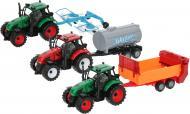 Ігровий набір Shantou три трактори з причепами JY42917