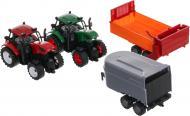 Ігровий набір Shantou два трактори з причепами JY42913