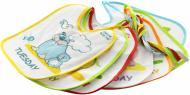 Набір нагрудників Canpol Babies бавовняно-клейонкових 7 шт 2/963