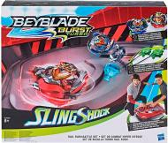 Игровой набор Hasbro BeyBlade SlingShock Rail Rush Battle Арена с волчками E3629