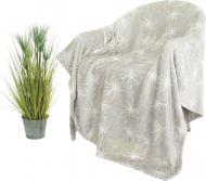 Плед Flannel Stars Grey 220x220 см сірий La Nuit