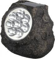 Світильник на сонячній батареї Globo Solar Stone 0,06 Вт IP44 темно-сірий 33920
