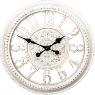 Годинник настінний Skeleton матеріал: пластик,колір: айворі 40,6х40,6х4,5 см