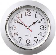 Годинник настінний Office срібний