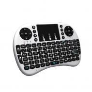 Беспроводная клавиатура с трехцветной подсветкой Noisy White (50228_my)