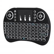 Беспроводная клавиатура Noisy с многоцветной подсветкой Black (50229_my)