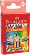 Олівці кольорові воскові (4 флуорисцентні) 75 мм Faber-Castell