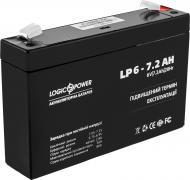 Акумулятор AGM 6-7.2 AH LogicPower