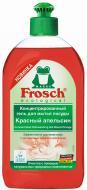 Гель для ручного миття посуду Frosch Червоний Апельсин концентрат 0,5л