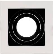 Світильник точковий Светкомплект HDL AT 12MWH/BK 50 Вт G5.3 чорний/білий