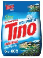 Пральний порошок для машинного та ручного прання Tino High-Power Mountain spring 6 кг